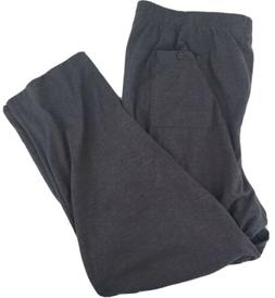 Mens Big And Tall Gray Cargo Sweatpants size 3XL