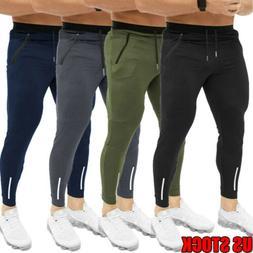 Mens Causal Baggy Sports Pants Loose Sweatpant Gym Tracksuit