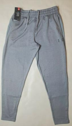 Mens Under Armour Cold Gear Heather Gray Grey Jogger Sweatpa