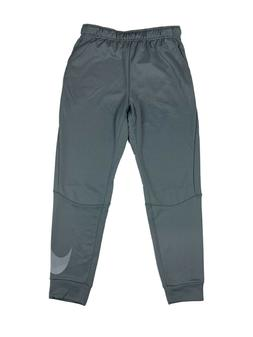 Nike Mens Dri-Fit Big Swoosh Jogger Training Sweat Pants Gre