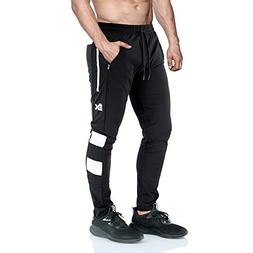 mens ease gym joggers pants slim fit
