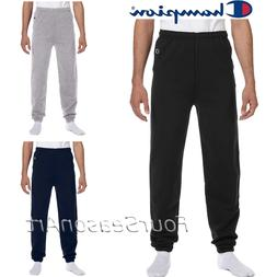 Champion Mens Elastic Athletic Eco Blend Sweatpants S M L XL