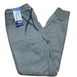 PUMA Mens Fleece Lined Athletic Embossed Sweatpants Joggers