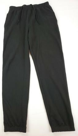 Mens Fleece Sweatpants Black amazon essentials NWOT size M 3