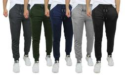 Mens French Terry Active Jogger Pants Sweatpants Lounge Slee