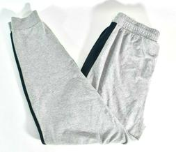 Lacoste Mens Gray Jogger Pants L New Drawstring Sleepwear Sw