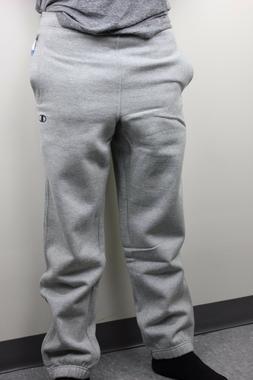 Champion Mens Light Gray Small Dark Gray C Logo Sweatpants N