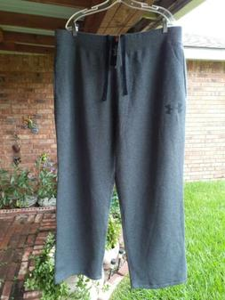 Mens New 3XL Under Armour Charcoal Gray Cold Gear. Loose Fit