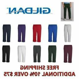 Gildan Mens Pants Heavy Blend Open Bottom Sweatpants S - 5XL