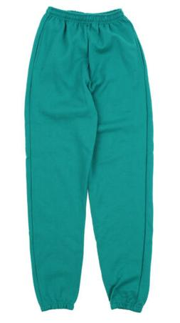 Champion Mens Powerblend Cotton Poly Sweat Pants, Teal