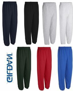 GILDAN Mens S M L XL 2XL Heavy Blend NO Pocket Sweatpants Ju