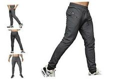 Mens Slim Fit Joggers Tapered Sweatpants for Gym Running Ath