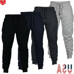 mens slim fit tracksuit sport gym skinny