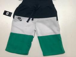 Mens Neon Pink Unicorn V394 Black Fleece Jogger Sweatpant Gym Shorts