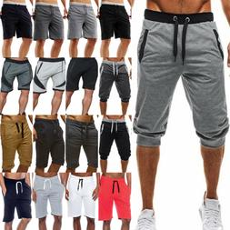 Men's Sports Casual Slim Fit Trousers Sweatpants Bench Sum