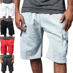 Men Summer Cargo Shorts Pants Gym Sport Workout Casual Short