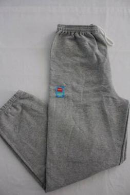 Mens Hanes Sweatpants Medium Gray Sweats Jogging Pants Worko