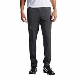 Adidas Mens Tapered weekender Sweat Pants, Dark grey-XL