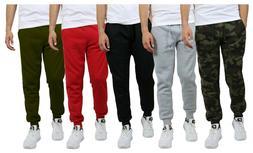 mens track jogger pants sweatpants running stripe