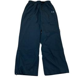 Under Armour Mens Track Pants Windbreaker Sweatpants Black S