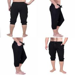 HDE Mens Workout Jogger Casual Waistband Sport Training Cuff