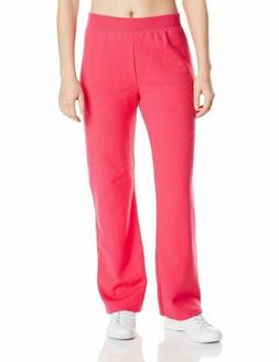 Hanes Women's Middle Rise Sweatpant, Sizzling Pink, X-Large