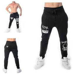 monsta clothing pants men fitness cuffed joggers