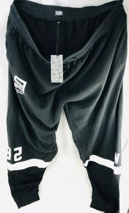 Parish Nation Men's 6XL Sweatpants Black Jogging Pants Swe