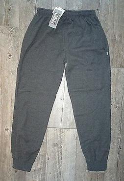 New  Pro Club 60/40 Blend Sweat Pant - Gray w/pocket - Large