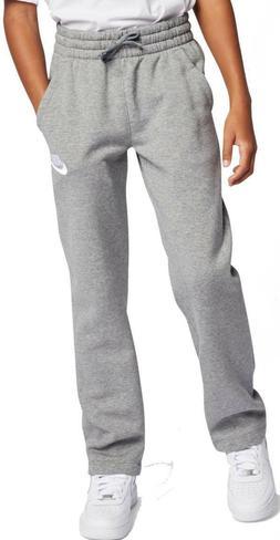 Nike NEW Boys Large L Grey Sweatpants Sportswear av4265-091