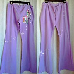 New! Primp Clothing Brand Drawstring Purple Sweatpants Unico