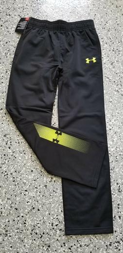 New Under Armour Kids Boys Black Sweatpants Long Pants with