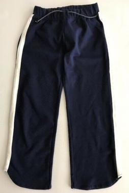 New Zara Girls kids Sweatpants Active pants side stripe size