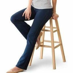 New Pajama Jeans M + L Stretch Knit Denim BOOTCUT Indigo Vol