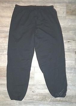 NEW Men's JERZEES Drawstring Sweatpant - Black - 3XL