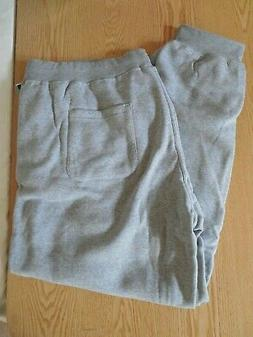 NEW MEN'S SOUTHPOLE GREY STRETCHY LOUNGE/ATHLETIC/SWEAT PANT