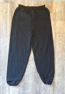 NEW Men's Gildan Heavy Blend Sweatpant - Black - S,M,L,XL,2X