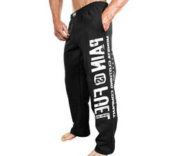New Men's Monsta Clothing Fitness Gym Sweatpants - Pain is F