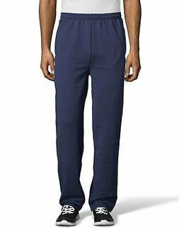 New Men's Hanes Premium Comfort Soft Fleece Navy Pocket Swea