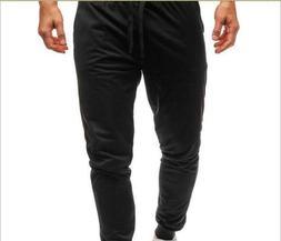 New Men Sport Pants Running Jogger Stakerope Comfort Sweatpa
