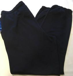 new mens 2xl navy blue sweatpants cotton