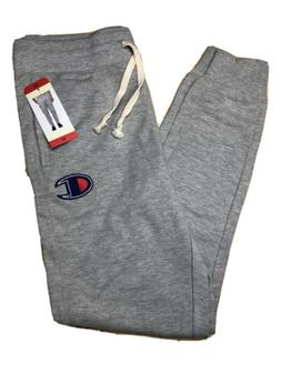 NEW MENS CHAMPION AUTHENTIC JOGGER SWEATPANTS Light Gray Med
