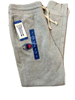 NEW MENS CHAMPION AUTHENTIC JOGGER SWEATPANTS Light Gray Lar