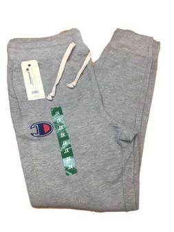 NEW MENS CHAMPION AUTHENTIC JOGGER SWEATPANTS OXFORD Gray XL