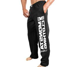 New Mens Monsta Clothing Gym Sweatpants - MC Monsta Clothing