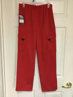 "New Men's or Boys 30""x28"" Pro Active Red Sweat Pants Size"