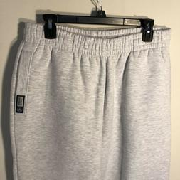 New Russell Athletic Mens Sweatpants Pro 10 sz Large Grey Gr