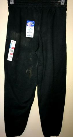 NEW NWT black SWEATS SWEAT PANTS mens size small FRUIT OF TH