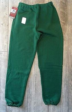 NEW Russell Men's Dri-Power Sweatpants - Dark Green - Adult