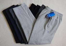 NEW Champion Sports Mens Gray Navy Black Open Bottom w/Pocke